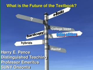 What is the Future of the Textbook?