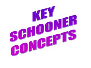 KEY SCHOONER CONCEPTS