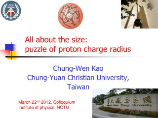 All about the size:  puzzle of proton charge radius