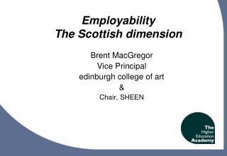 Employability The Scottish dimension