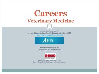 Careers  Veterinary Medicine
