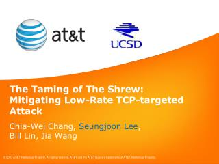 The Taming of The Shrew:  Mitigating Low-Rate TCP-targeted Attack