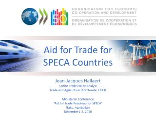 Aid for Trade for SPECA Countries