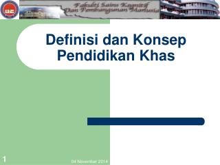 Definisi dan Konsep Pendidikan Khas