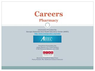 Careers  Pharmacy