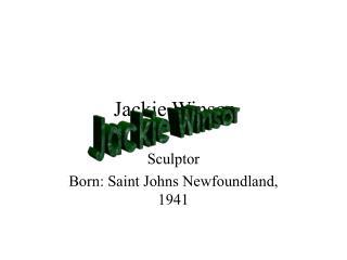 Jackie Winsor