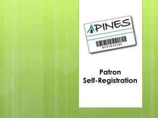 Patron  Self-Registration