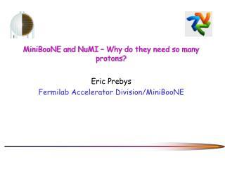 MiniBooNE and NuMI – Why do they need so many protons?