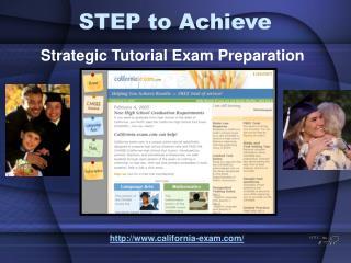 STEP to Achieve