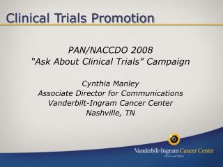 Clinical Trials Promotion