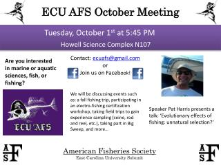 ECU AFS October Meeting