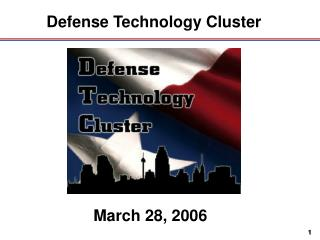 Defense Technology Cluster