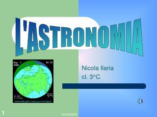 Nicola Ilaria  cl. 3C