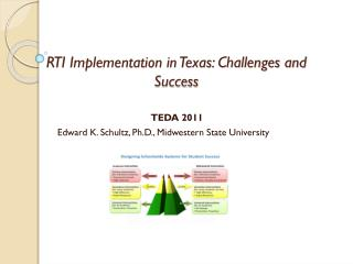 RTI Implementation in Texas: Challenges and Success