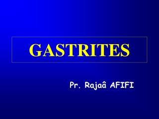 GASTRITES