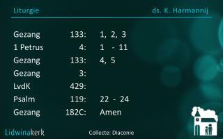 Liturgie ds . K.  Harmannij