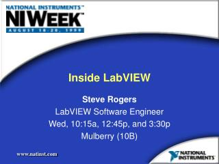 Inside LabVIEW