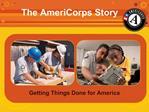 My AmeriCorps Story