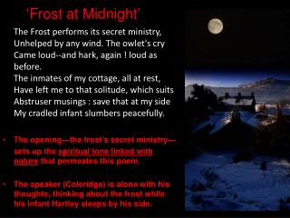 'Frost at Midnight'