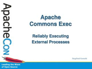Apache  Commons Exec