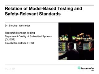 Relation of Model-Based Testing and Safety-Relevant Standards