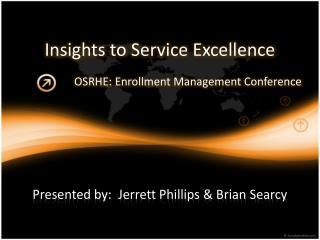 Insights to Service Excellence