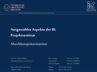 Die Linusbank  Allgemeine Marktübersicht Unternehmenssicht Problembeschreibung Projektplan