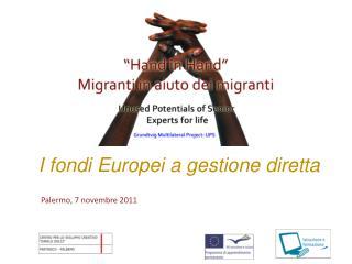 I fondi Europei a gestione diretta
