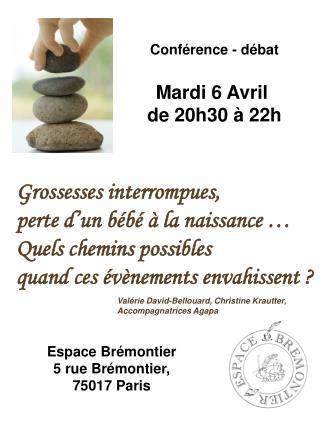 Espace Brémontier 5 rue Brémontier,  75017 Paris