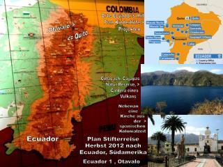 Cotacachi Cayapas     Natur-Reserve, >        Caldera eines               Vulkans