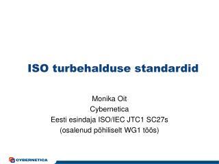 ISO turbehalduse standardid