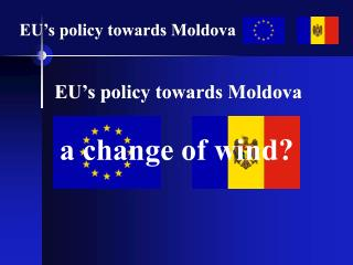 EU's policy towards Moldova