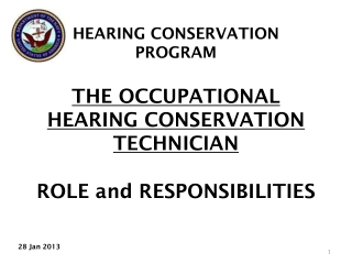 Current hearing screening programme