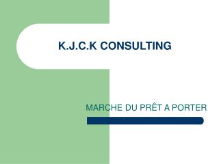 K.J.C.K CONSULTING
