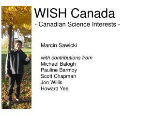 WISH Canada