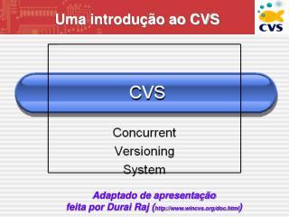Uma introdução ao CVS