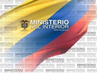 MINISTERIO DEL INTERIOR Dirección para la Democracia,