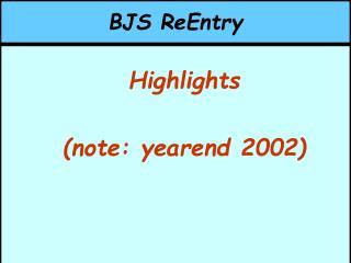 BJS ReEntry