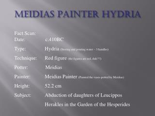 Meidias Painter Hydria