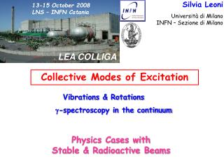13-15 October 2008 LNS – INFN Catania