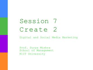 Session  7  Create  2