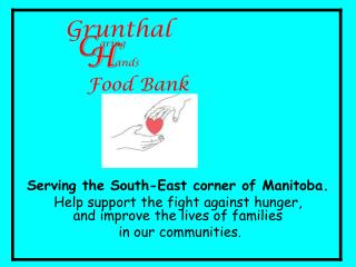 Serving the South-East corner of Manitoba.
