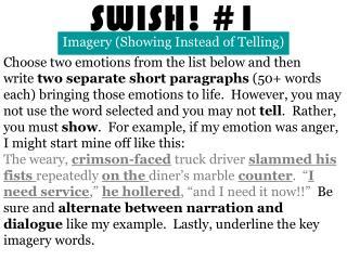 SWISH! #1