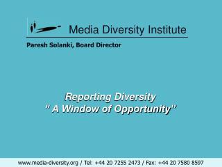 Media Diversity Institute