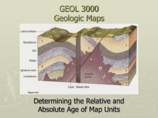 GEOL 3000 Geologic Maps