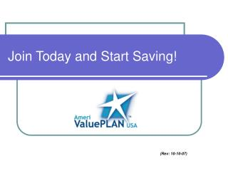 Join Today and Start Saving!