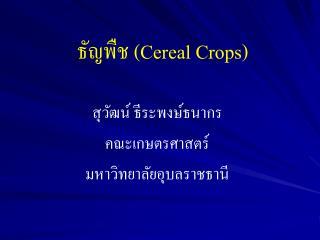 ?????? ( Cereal Crops )