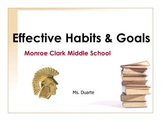 Effective Habits & Goals