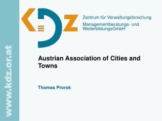 Austrian Association of Cities and Towns