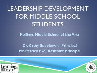 Leadership Development for Middle School Students